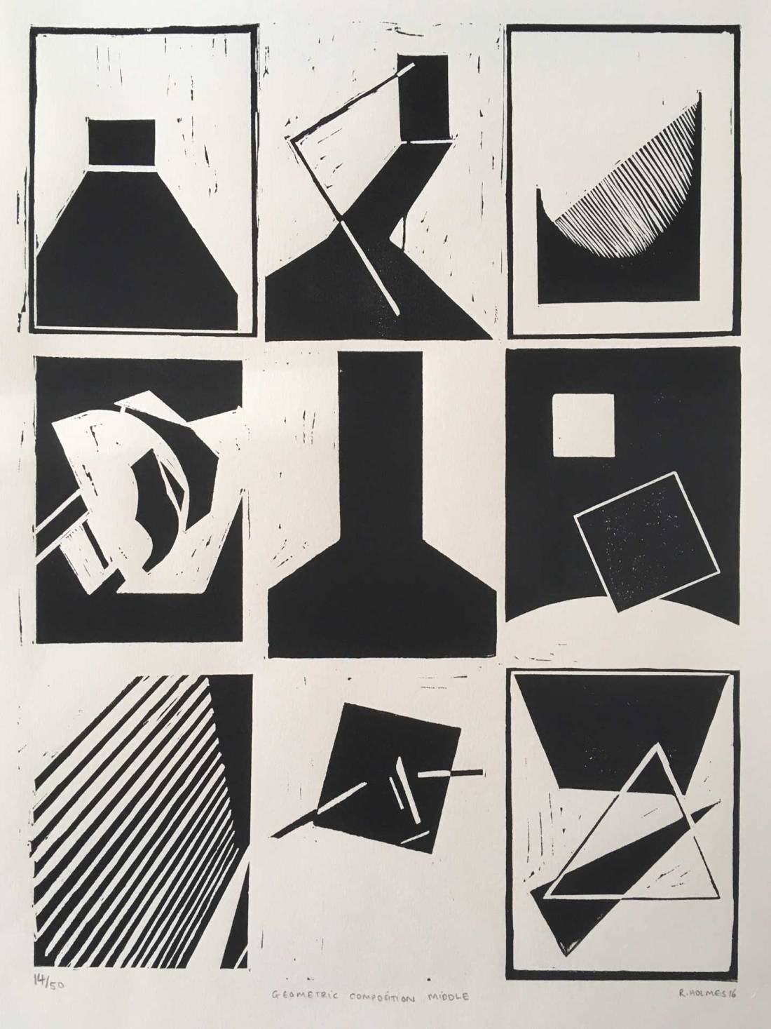 Geometric Composition: Middle